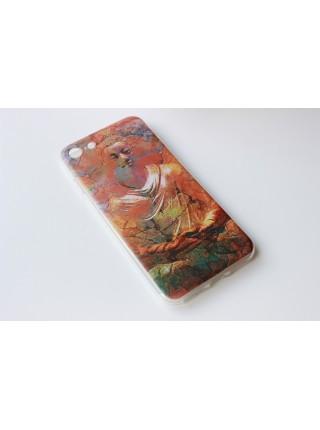 """Чехол мягкий """"Будда""""  iPhone 7  (AK0140)"""