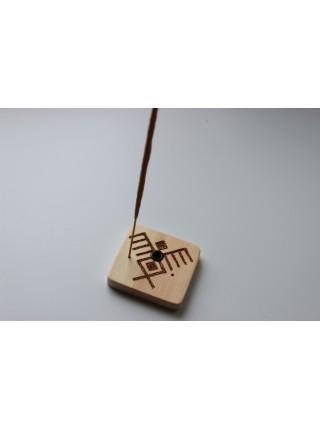 Подставка-оберег деревянная с символом птиц (AK0149)