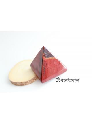 Пирамида из красной яшмы (AK0151)
