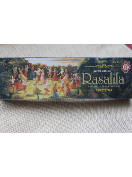 Благовония Radha Madhav Rasalila Масала светлые 70 гр (AK0012)