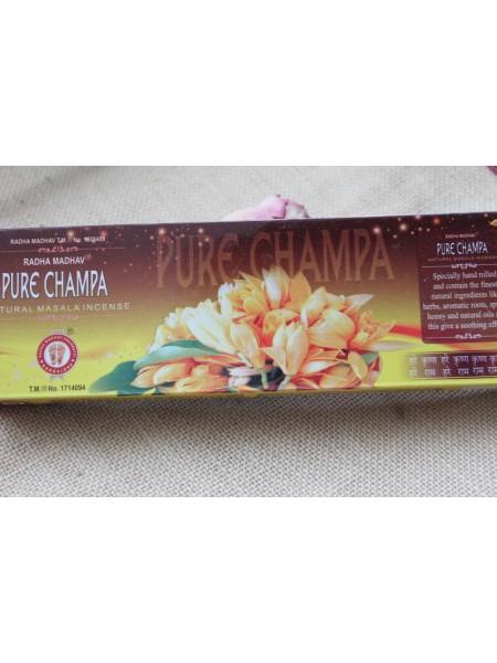 Благовония Radha Madhav Pure Champa Масала светлые 70 гр (AK0014)