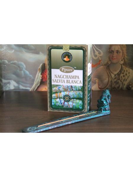 Благовония Ppure White Sage аромапалочки уп 15гр (AK0029)