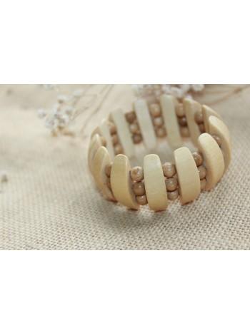 Браслет деревянный «Дневной свет» (BR0017)
