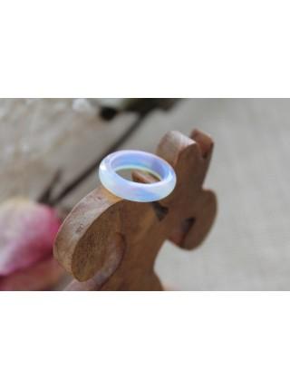 Кольцо из лунного камня (опалит) (KGS0006)
