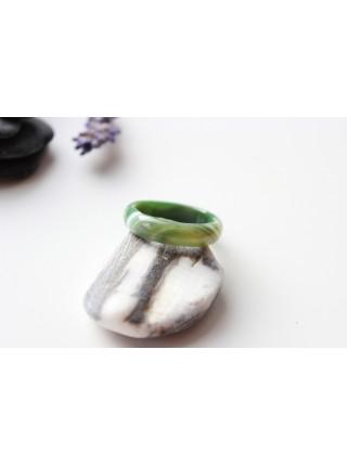 Кольцо из агата (KGS0057)