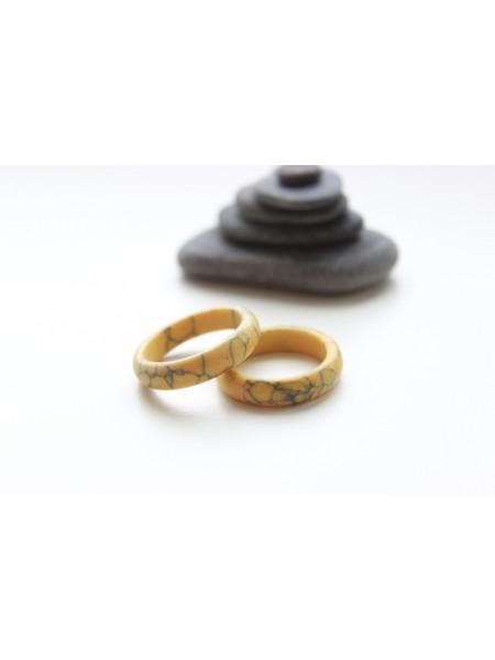 Кольцо из говлита (KGS0067)