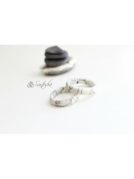 Кольцо из говлита (KGS0070)