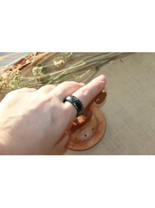 Кольцо из гематита (KL0031) 9мм