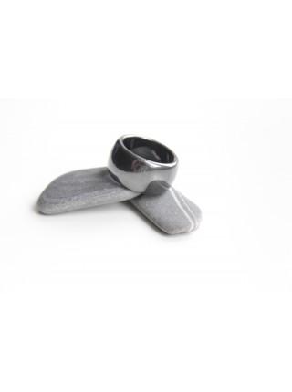 Кольцо из гематита (KL0033) 15 мм