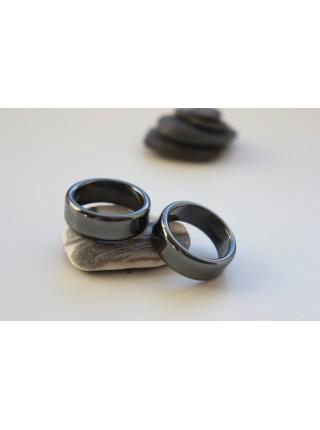 Кольцо из гематита (KL0038) 8,5мм