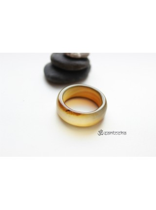 Кольцо из агата (KL0049)