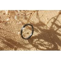 Кольцо из гематита (KLU0010)