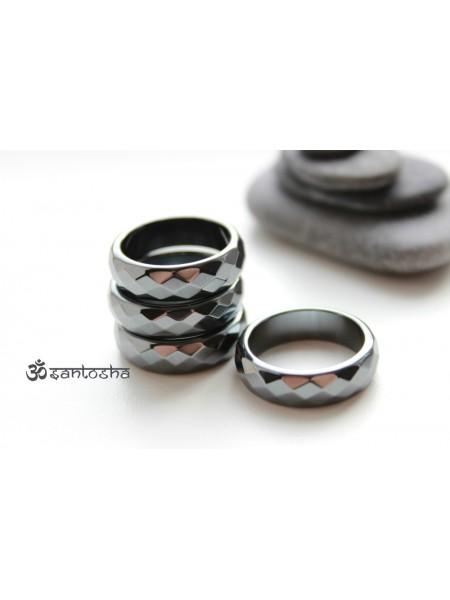 Кольцо из гематита (KOS0003)