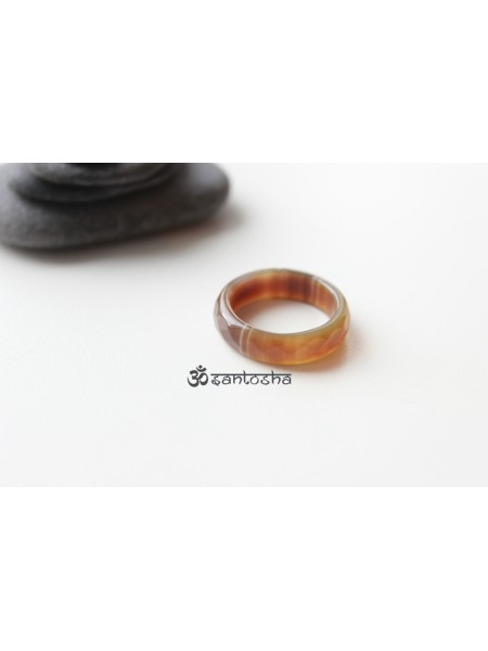 Кольцо из агата (KOS0021)