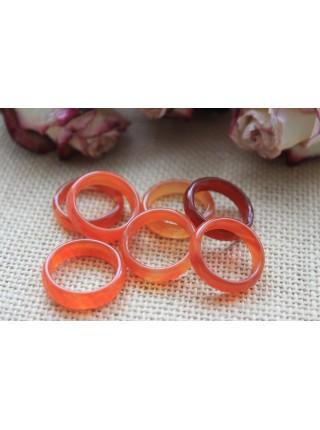 Кольцо из сердолика (KOS0044)