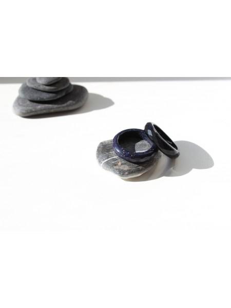 Кольцо из авантюрина (имитация) (KOS0081)