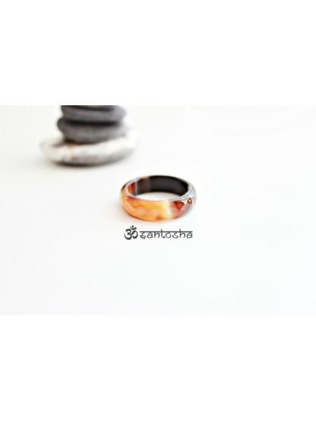 Кольцо из сардоникса (KOS0103)
