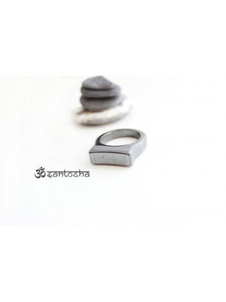 Перстень из гематита (PR0024)