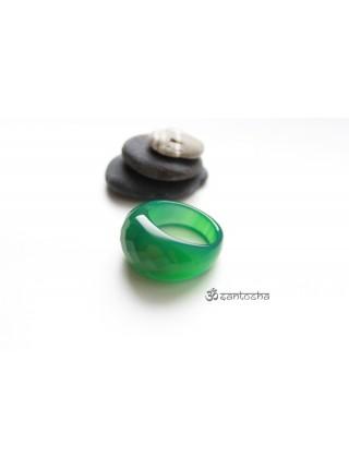 Перстень из халцедона с огранкой (PR0025)